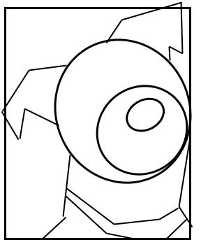 Hundeportrait zeichnen - Schritt 1