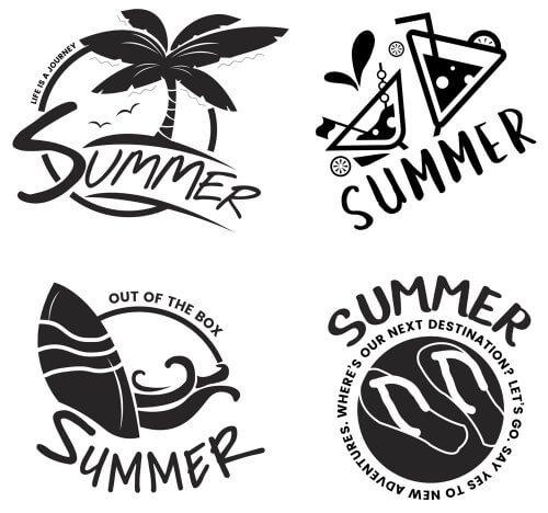 Logoentwürfe Summer