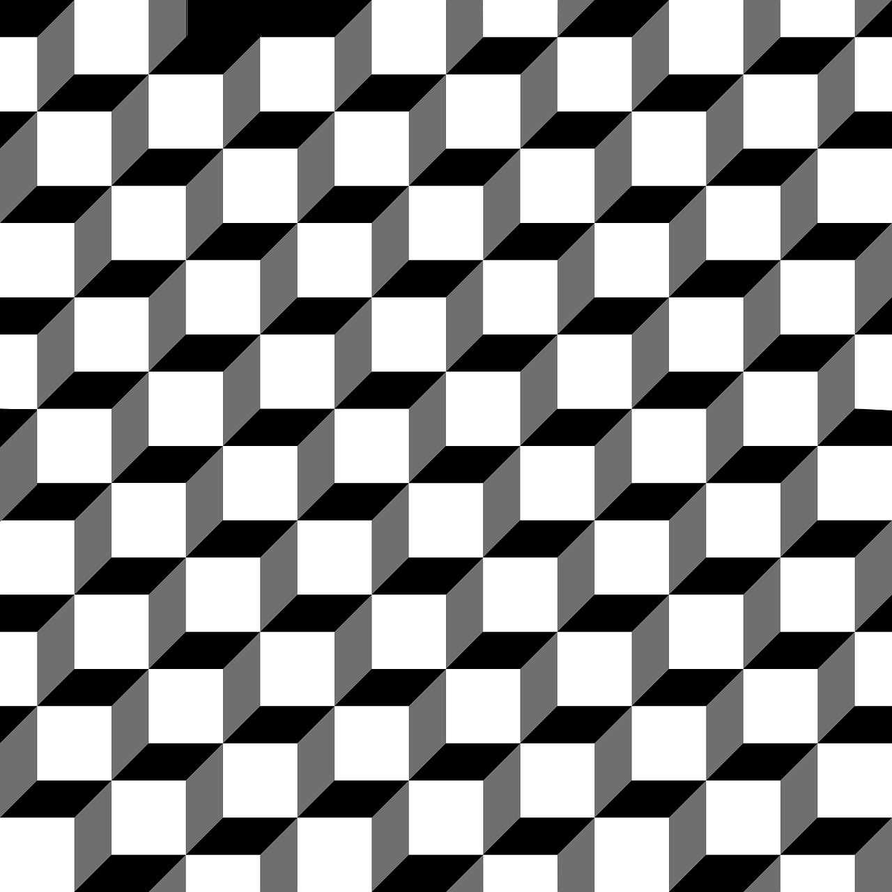 Optische Tauschung Und Illusionen Beispielbilder