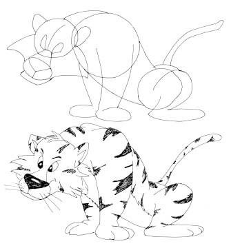 Comictiger zeichnen 2