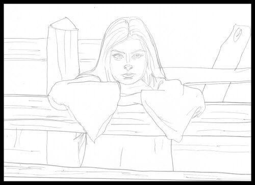 Bildgestaltung von Comics: Portrait/ Nah-Einstellung