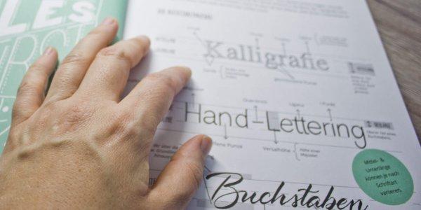 Typografie und Lettering - Buch