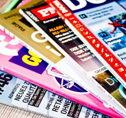 Zeitschriftentitel gestalten