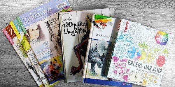 Sommergewinnspiel 2020-buecher: Gewinne Bücher rund ums zeichnen und malen!